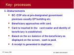 key processes8