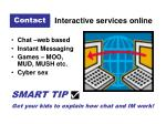 interactive services online