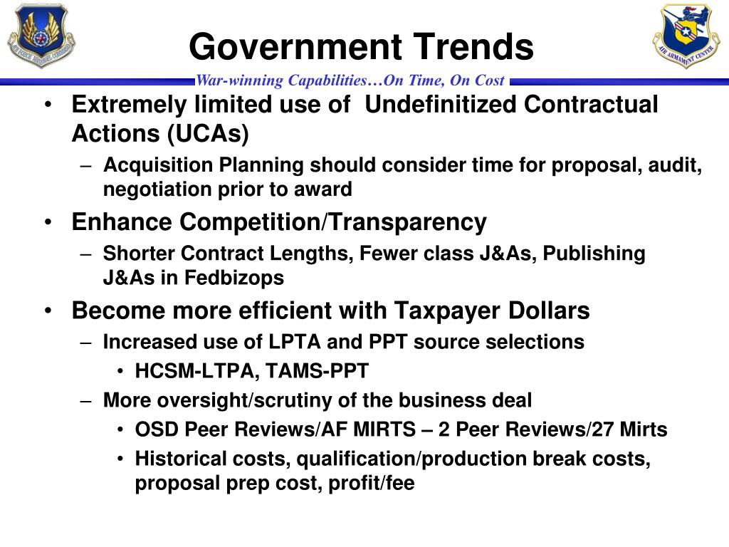 Government Trends