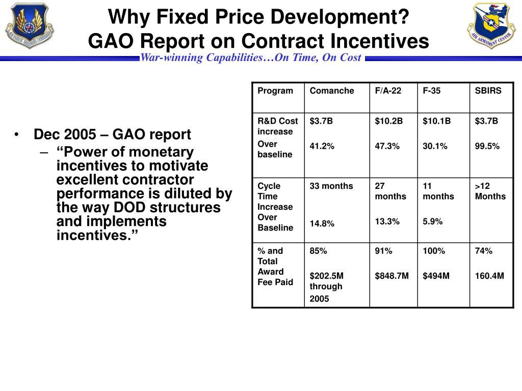 Why Fixed Price Development?