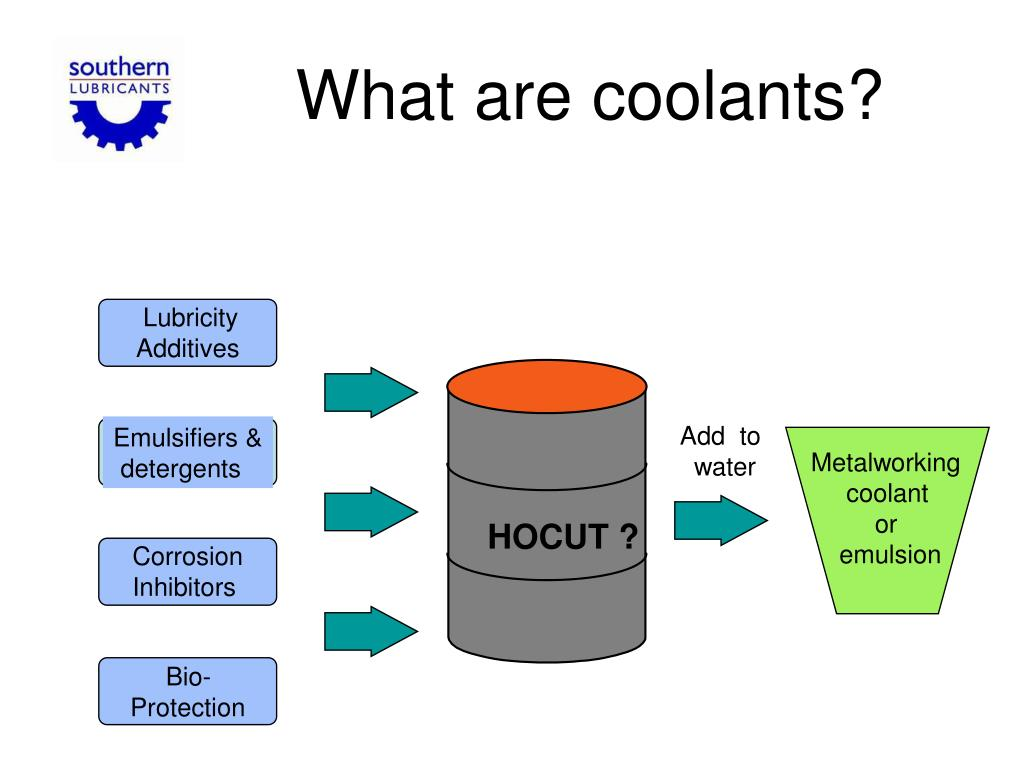 What are coolants?