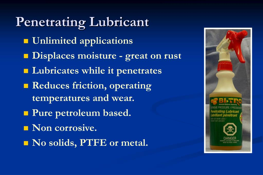 Penetrating Lubricant