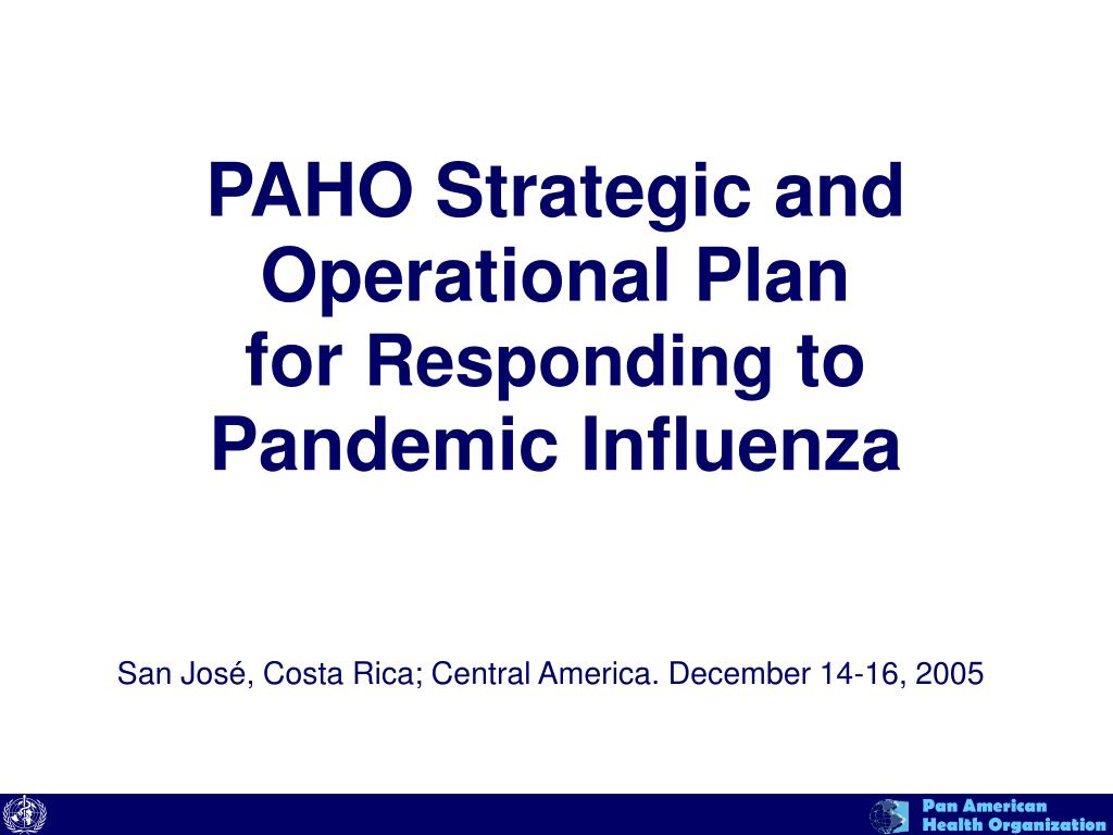 influenza pandemic and its implications to