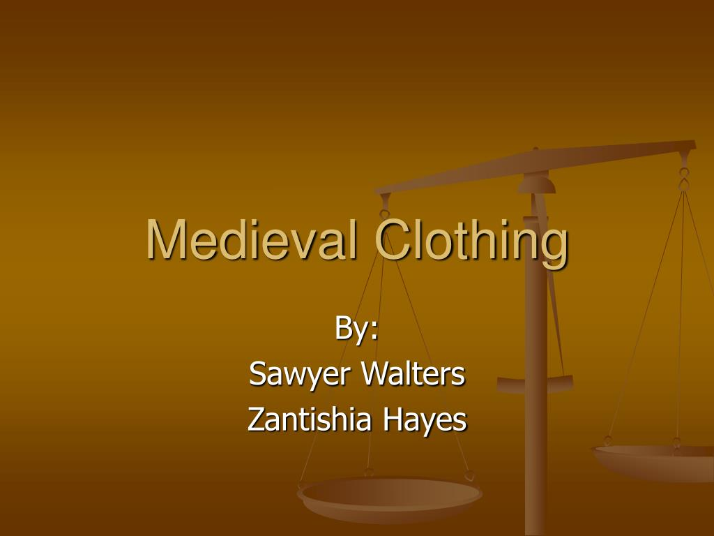medieval clothing l.