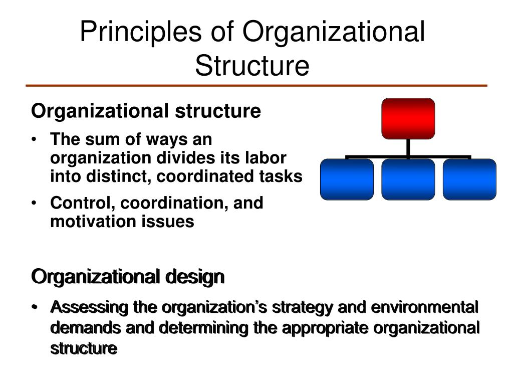 Ppt Principles Of Organizational Structure Powerpoint Presentation Free Download Id 425487