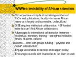 wwweb invisibility of african scientists14