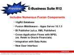 preview e business suite r12