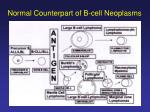 normal counterpart of b cell neoplasms