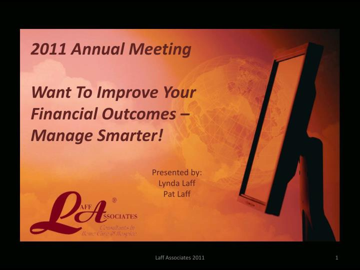 2011 Annual Meeting