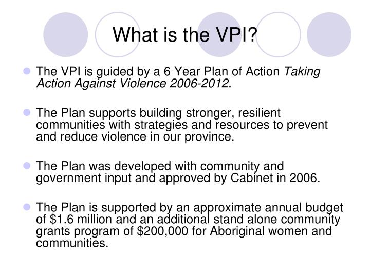What is the vpi3