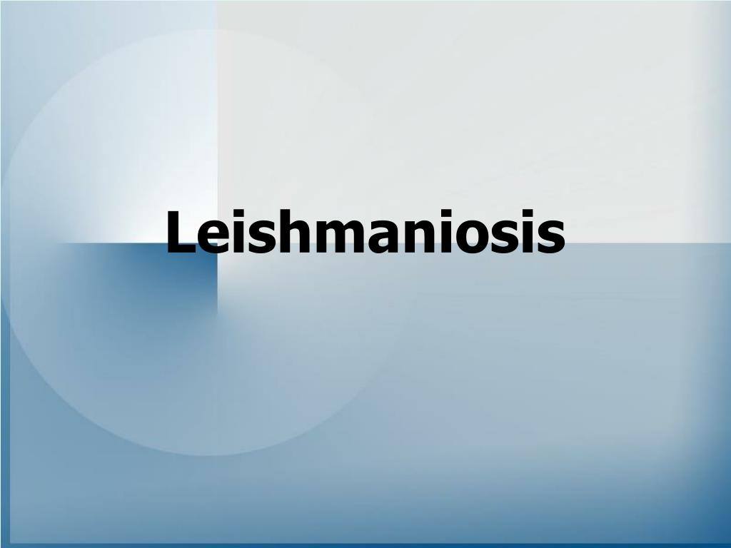 leishmaniosis l.