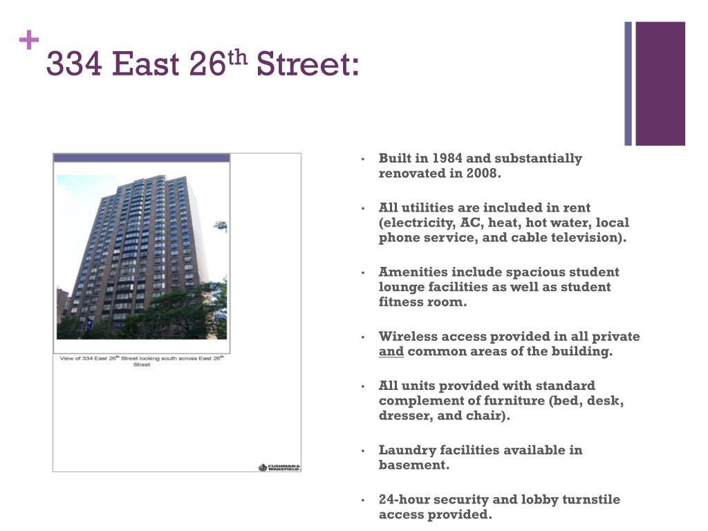 334 East 26