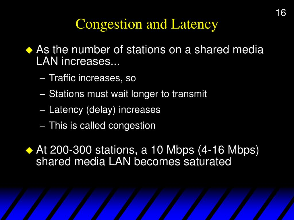 Congestion and Latency
