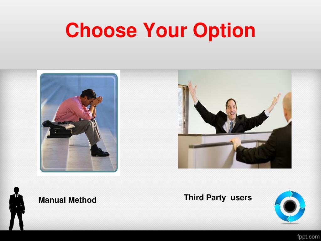 Choose Your Option