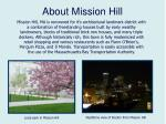 about mission hill