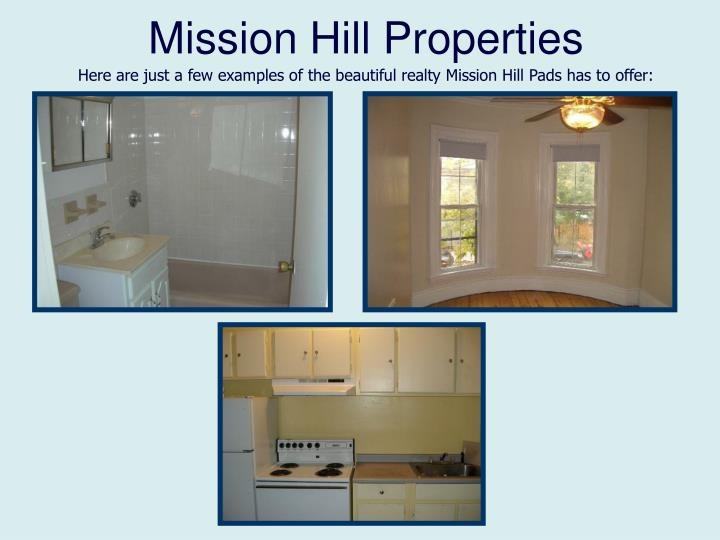 Mission Hill Properties