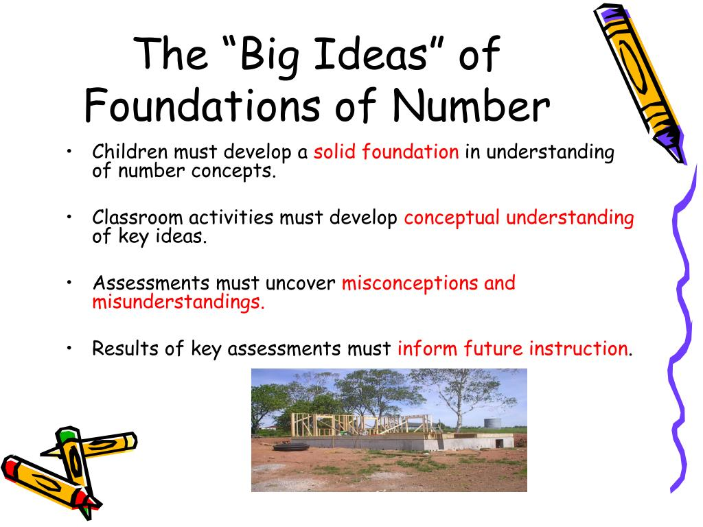 """The """"Big Ideas"""" of Foundations of Number"""