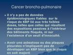 cancer broncho pulmonaire31