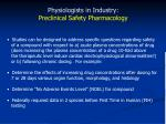 physiologists in industry preclinical safety pharmacology