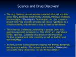 science and drug discovery