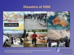 disasters of 2006