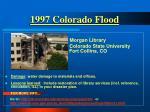 1997 colorado flood