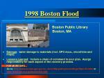 1998 boston flood