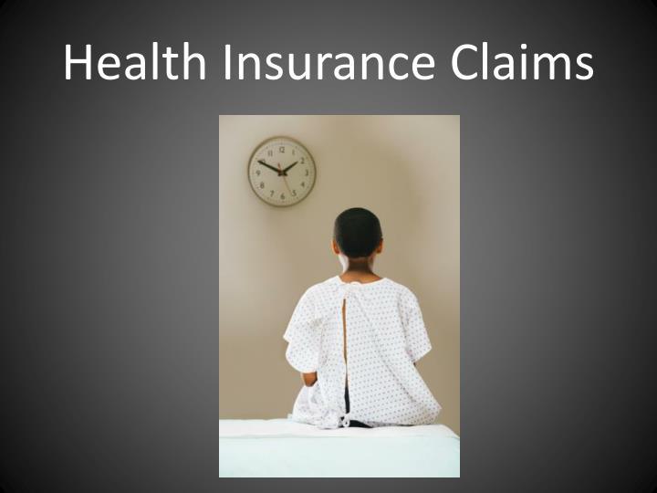 Health Insurance Claims