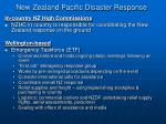 new zealand pacific disaster response