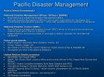 pacific disaster management