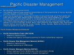 pacific disaster management22