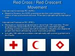red cross red crescent movement