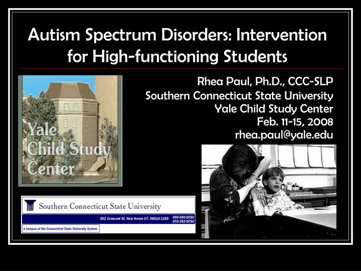an introduction to autism spectrum disorder Abstract clinical impressions suggest a different sexual profile between individuals with and without autism spectrum disorder (asd) little is presently known about the demographics of sexual orientation in asd.