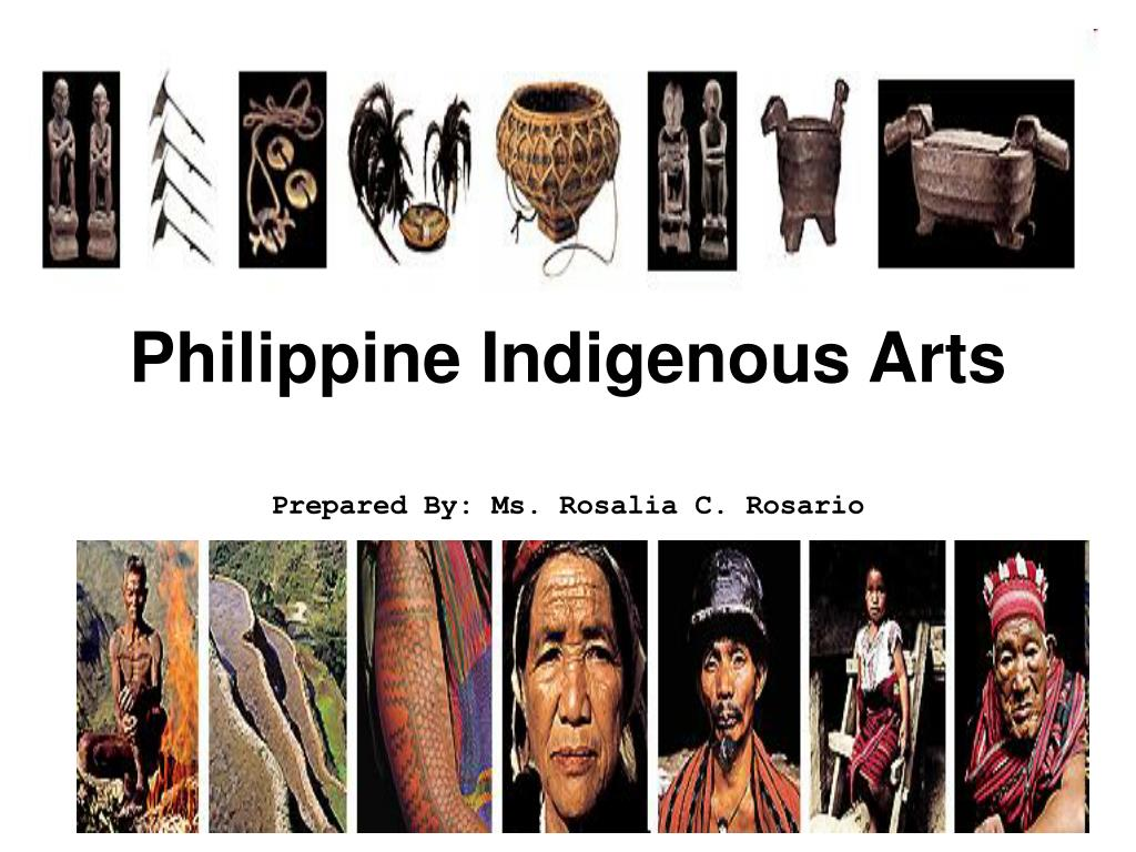 philippine indigenous arts l.