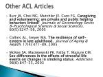 other acl articles24