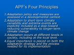 apf s four principles
