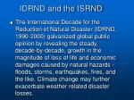 idrnd and the isrnd