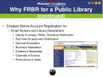 why frbr for a public library continued8
