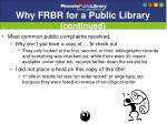 why frbr for a public library continued9