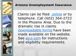 arizona unemployment insurance