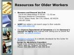 resources for older workers18