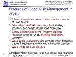features of flood risk management in japan