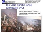 the great hanshin awaji earthquake 1995