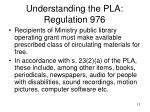 understanding the pla regulation 976