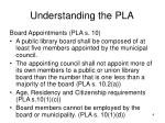 understanding the pla