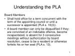 understanding the pla5