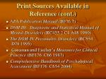 print sources available in reference cont15