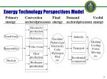 energy technology perspectives model
