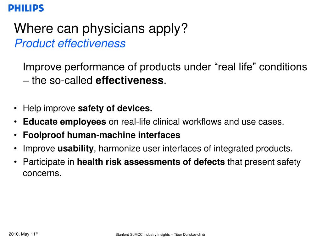 Where can physicians apply?