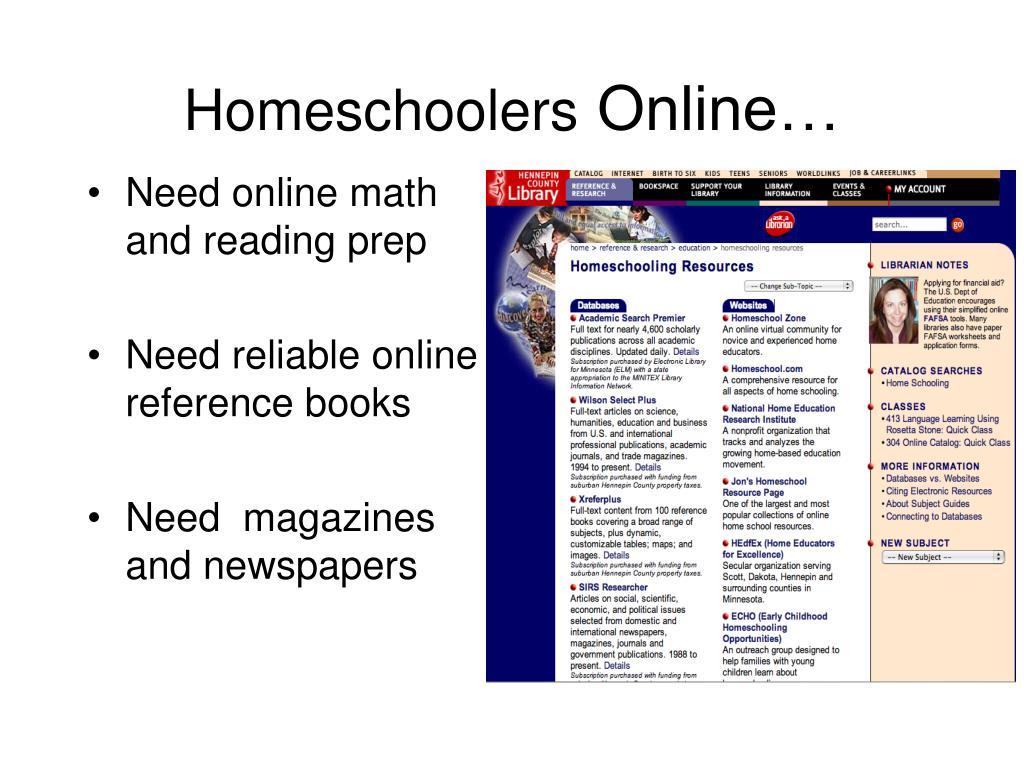 Homeschoolers